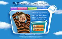 Kids with Asthma Website | National Asthma Council Australia