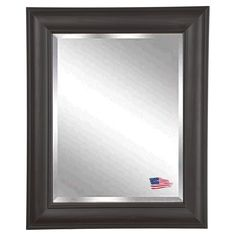 Have to have it. Brazilian Walnut Wall Mirror - $143.77 @hayneedle