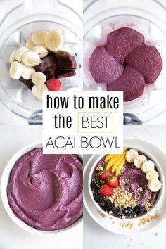 acai bowl recipe easy * acai bowl recipe ` acai bowl recipe easy ` acai bowl recipe healthy ` acai bowl recipe homemade ` acai bowl recipe easy how to make ` acai bowl recipe videos ` acai bowl recipe peanut butter ` acai bowl recipe easy healthy Acai Bowl Recipes Healthy, Fruit Smoothie Recipes, Easy Smoothies, Healthy Fats, Vitamix Recipes, Acai Bowl Recipe Nutribullet, Recipes For Acai Bowls, Acai Bowl Recipe With Acai Powder, Healthy Recipes