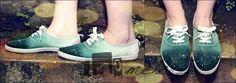 DIY: Ombre Schuhe