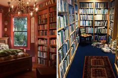 18 Airbnbs For Anyone Who Just Fucking Loves Books Libraries to make Belle green with envy.