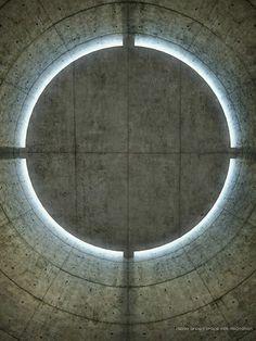 Meditation Space, Paris, 1995, Tadao Ando