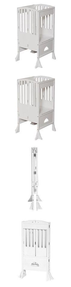 Stools 134650: Guidecraft Contemporary Kitchen Helper White  U003e BUY IT NOW  ONLY: $151.16