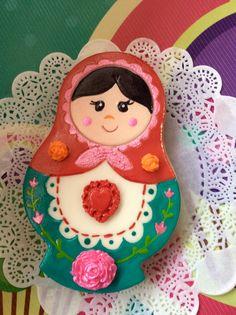 Russe Timbre de Cookie Japonais Cutter Matryoshka Cookie Cutter POUPEES RUSSES.