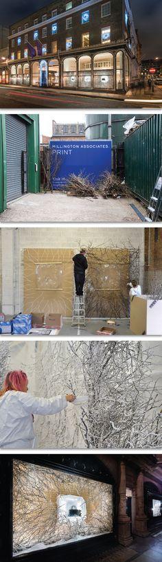 Asprey Christmas Windows & Interior, 2013 | The Making of Asprey Christmas, Inside Millington Associates' Studio