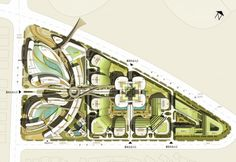 UA Studio 7 and Aedas' Central Business District for Hongqiao Airport Now Underway | ArchDaily