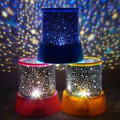 LED Planetarium Đêm Lights Starry Sky Sao Thầy Bóng Đèn Máy Chiếu Chiếu cho Trẻ Em Phòng Ngủ Bé Ngủ Lamp Luminárias