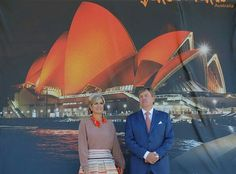 ♥•✿•QueenMaxima•✿•♥...On November 3, 2016, King Willem-Alexander and Queen Maxima of The Netherlands visited Cockatoo Island in Sydney, Austalia. They also attend the Food Bytes Award ceremony and see three displays of innovative concepts of farm-to-fork and visit at Smart Cities and UNESCO World PEM Holland Hub. Dutch Royal couple attend meeting with Governor Hurley of the New South Wales Australian.