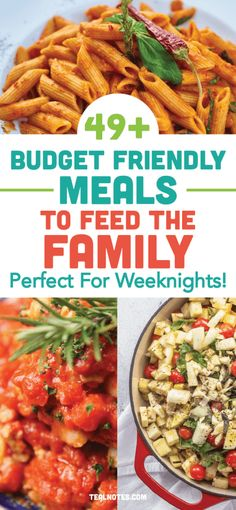 49 Cheap Dinner Ideas To Stay Within Your Meal Budget— Quick And Easy Dinner Recipes Cheap Family Meals, Healthy Family Dinners, Cheap Easy Meals, Cheap Dinners, Cheap Food, Easy Dinners, Dinner Recipes Easy Quick, Healthy Dinner Recipes, Healthy Food