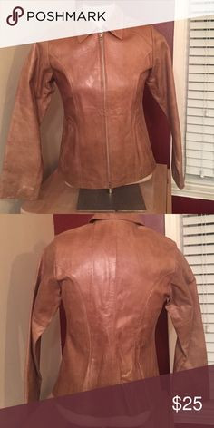 Jacket Leather like (not sure if it's genuine leather or vegan leather) purchased in Argentina Jackets & Coats