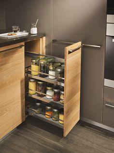 Cucina componibile in legno LINEE Collezione Linee by TEAM 7 Natürlich Wohnen   design Karl Auer