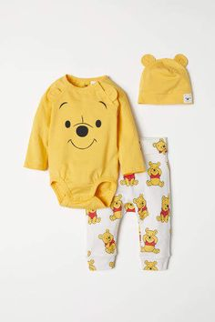 Mameluco de Color Beige Body Winnie The Pooh Disney