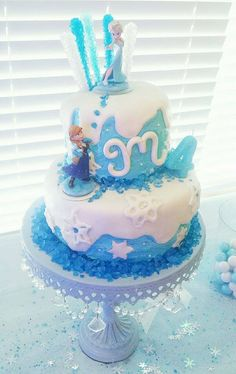 Frozen birthday cake FrozenOlaf themed birthday cake for twin