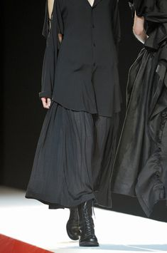 Yohji Yamamoto Spring 2012