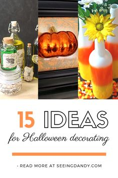 Diy halloween decorations 284078688982757478 - Such easy DIY Halloween decorating ideas! Source by seeingdandy Halloween Home Decor, Diy Halloween Decorations, Halloween Treats, Halloween Diy, Halloween Design, Halloween Activities, Easy Diy Crafts, Holiday Crafts, Thanksgiving Crafts