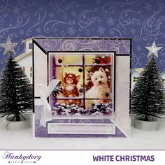 Christmas Craftaganza - Hunkydory | Hunkydory Crafts Christmas Cards 2018, Christmas 2014, Xmas Cards, White Christmas, Hunkydory Crafts, Bird Cards, Create And Craft, Halloween Cards, Christmas Inspiration