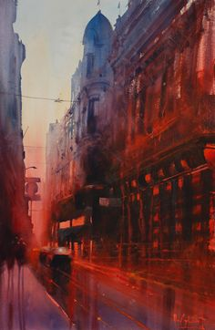 Art Of Watercolor: Alvaro Castagnet. Christmas Interview