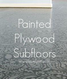 painted plywood floors 4