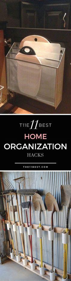 The 11 Best Home Organization Hacks
