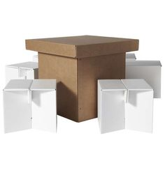 Recyclable Cardboard Furniture