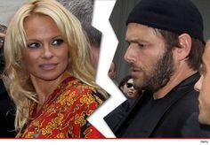 Pamela Anderson files for divorce from Rick Salomon (again).