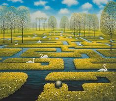 The spring labyrinth
