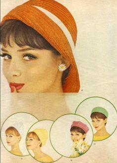 hats - 60s Fashion - agent-lee