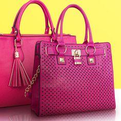 A Rosy Outlook #handbags