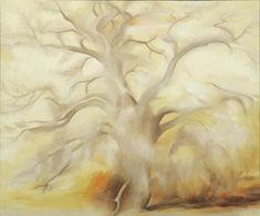 chasingtailfeathers:  Georgia O'Keeffe, Winter Tree III, 1953, Oil on canvas, 30 x 36 inches, ©Georgia O'Keeffe Museum