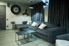 A Dream Home Decorating Ideas On Christmas: gray sofa interior furniture design for christmas home decor ideas