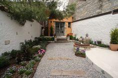 Garden, Courtyard, Atrium Old Stone Houses, Atrium, Kitchen Island, Bathroom, Patio, Furniture, Design, Outdoor Decor, Garden