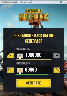 PUBG Mobile Hack 2019 How to get Free UC and BP PUBG