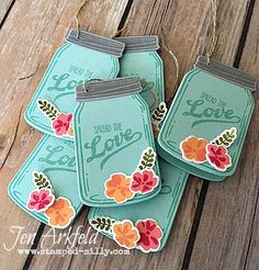 Stamped Silly: Creation Station: Gifts from the Garden