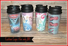DIY Custom Cups for $1!