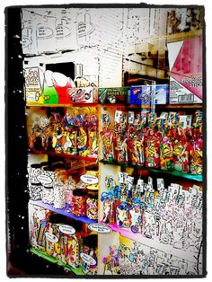 The Sweet Shop window