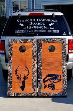 MAX 4 Camo Bordered Deer  / Bass Set  - $180 w/bags