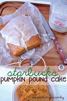 Starbucks Pumpkin Pound Cake Recipe on Yummly. @yummly #recipe