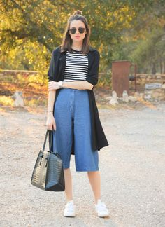 #denim #culotte