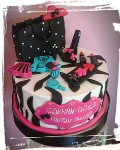 White black cake