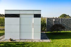 design gartenhaus @gart_zwei in Euskirchen garden shed @gart_zwei by design@garten #Gartenhaus #HPL #Gerätehaus