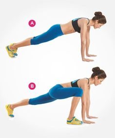 Abs Exercises Better Than Crunches   Women's Health Magazine- cool plank variation