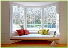Modern Window Seat Design
