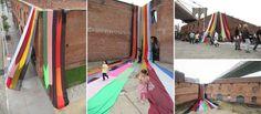 Amanda Browder - Intervenciones textiles | Textiles interventions