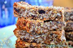Gluten-Free & Dairy-Free Chewy Muesli Bars TheHealthyApple.com #glutenfree #recipe #healthy