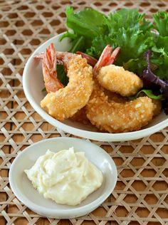 Celebrity MasterChef Eamon Sullivan's recipe for macadamia crusted prawns with aioli - yum!