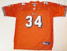 Official Reebok NFL Miami Dolphins   31 Ricky Williams Jersey Orange sz XXL   Reebok  MiamiDolphins a288d6378