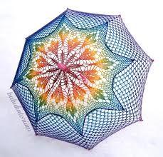 Resultado de imagem para crochet umbrella