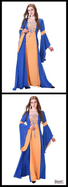 Cosplaydiy Medieval Renaissance Gowns Lady's Dress Custom Made