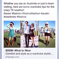 SXSW Style Guide / festival style  britpaige.com #sxsw #festival #festivalstyle #coachella #ACL #Lollapalooza #style #britpaige #fashion