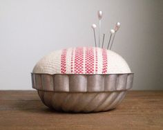 Pincushion From Vintage Mold